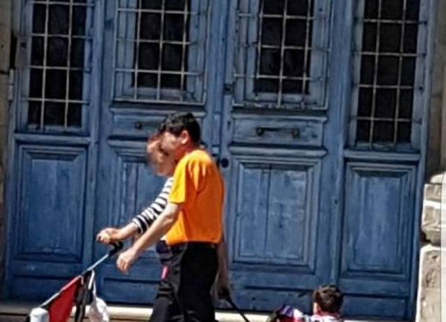 Κύπρος: Έκαναν βόλτα το μωρό με βαλίτσα (ΦΩΤΟ)