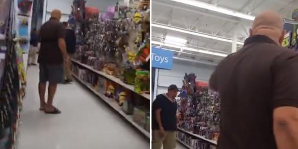 Άγνωστος φωτογράφιζε κορίτσι στο σούπερ μάρκετ – Πώς αντέδρασε ο πατέρας