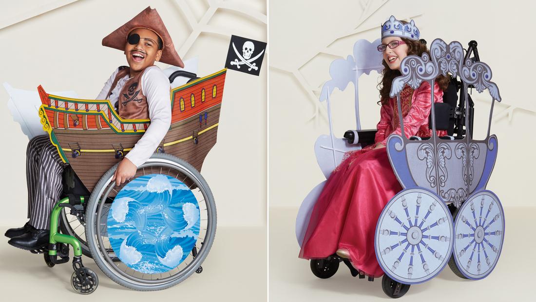 Μεγάλη αλυσίδα καταστημάτων κυκλοφόρησε αποκριάτικες στολές για παιδιά με αναπηρίες