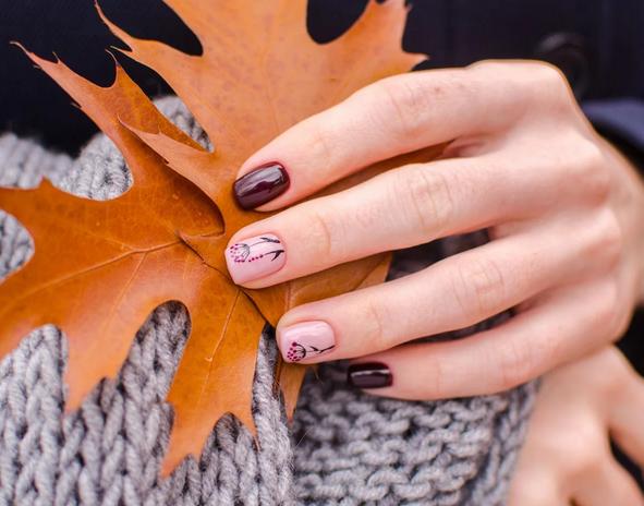 10 υπέροχες nail art ιδέες που μπορείς να δοκιμάσεις φέτος το φθινόπωρο (εικόνες)