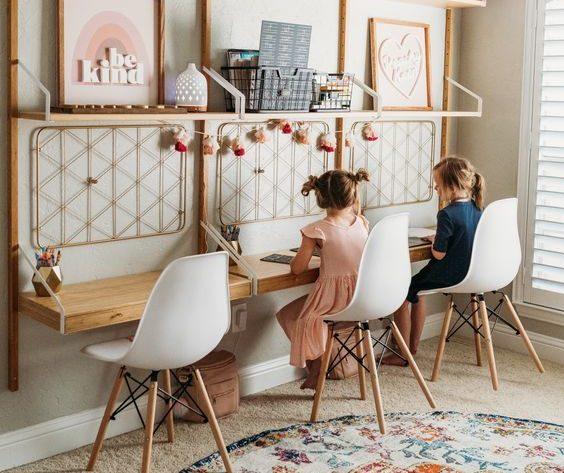 5 μοναδικές ιδέες – Πώς να οργανώσετε τον χώρο μελέτης αν έχετε 2 ή και περισσότερα παιδιά