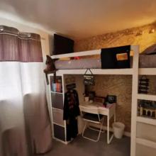 αμά μεταμόρφωσε το δωμάτιο των 3 κοριτσιών της και κάθε ένα έχει... τον δικό του χώρο! (εικόνες)