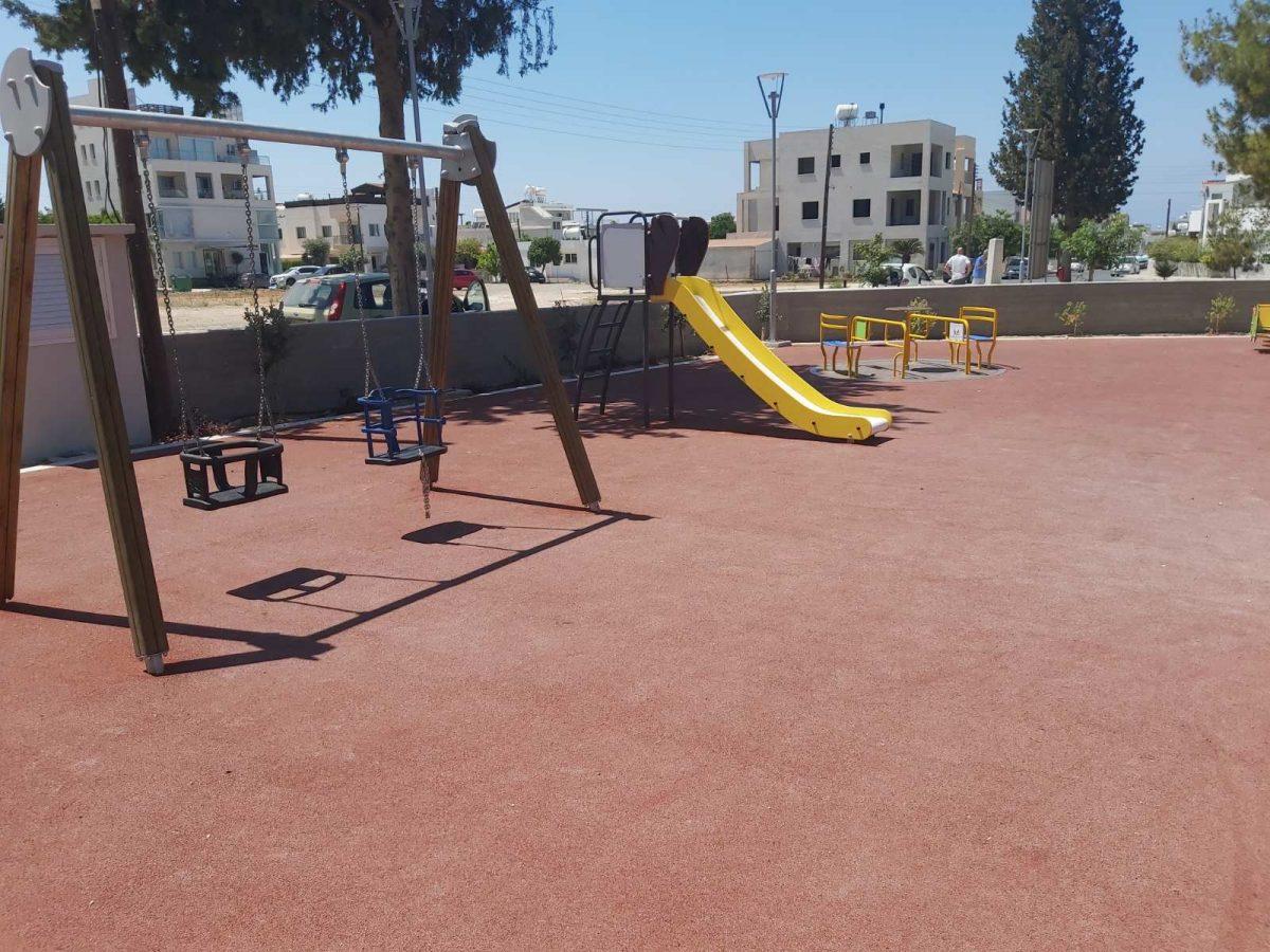 Το πάρκο «Ισμήνη Λιασίδου» περιμένει και παιδιά με κινητικά προβλήματα