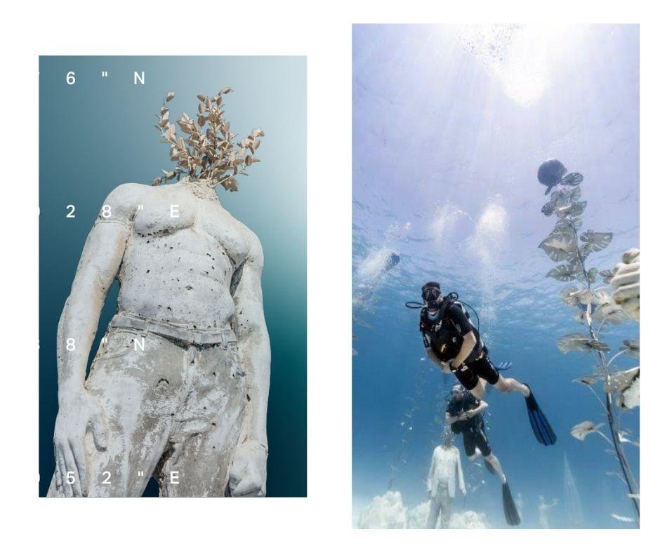 Εγκαινιάζεται το υποβρύχιο μουσείο MUSAN στην Αγία Νάπα - Οι θεαματικές πρώτες φωτογραφίες
