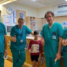 Hadassah: Εντοπισμός σπάνιου όγκου στη σπονδυλική στήλη 9χρονης - Η σωτήρια επέμβαση