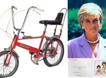 Ποιος θα αποκτήσει το κόκκινο, παιδικό ποδήλατο της πριγκίπισσας Νταϊάνα;
