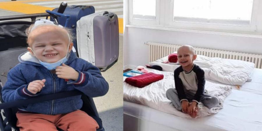 Ο 4χρονος Νικόλας δίνει μάχη με τον καρκίνο και χρειάζεται την βοηθειά μας