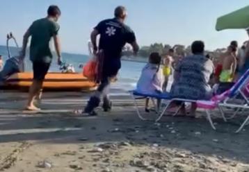 Λεμεσός: 16χρονος τραυματίστηκε σοβαρά σε παραλία - Ανασύρθηκε αναίσθητος (video)