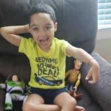 6χρονος νίκησε σπάνια πάθηση που τον είχε καθηλώσει και μπορεί πλέον να παίζει!