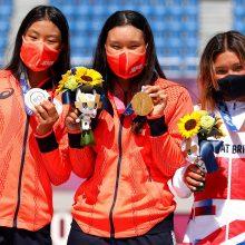 """Απίθανες: Το """"σήκωσαν"""" τελικά οι 13χρονες skateboarders στους Ολυμπιακούς του Τόκιο!"""