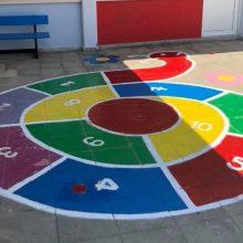 Το Β´ Δημοτικό Σχολείο Παλαιομετόχου έγινε μία χρωματιστή πολιτεία (εικόνες)