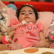 Ανάσα ζωής για τη μικρούλα Asya που πάσχει από Νωτιαία Μυϊκή Ατροφία