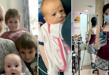 Μητέρα επέλεξε να χάσει το πόδι της για να φέρει στον κόσμο το μωρό της