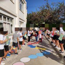 Σε αυτό το δημοτικό σχολείο υποδέχθηκαν τα παιδιά με χειροκροτήματα και Μίκη Θεοδωράκη