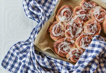 Ρολά κανέλας χωρίς ζάχαρη: Tο πιο γευστικό κολατσιό για το σχολείο
