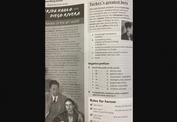 Απόσυρση του βιβλίου Αγγλικών που «εκθειάζει» τον Κεμάλ εξετάζει το Υπ. Παιδείας