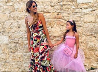Κωνσταντίνα Ευριπίδου: Η συγκινητική ευχή στην κόρη της για τη γιορτή της (εικόνες)