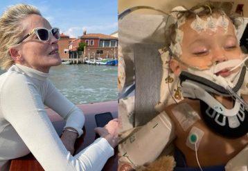 Σάρον Στόουν: «Ο 11μηνών ανιψιός μου έσωσε τρεις ακόμη ζωές με τον θάνατό του»