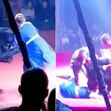 Τρόμος σε τσίρκο: Αρκούδα επιτέθηκε σε έγκυο θηριοδαμάστρια (βίντεο)