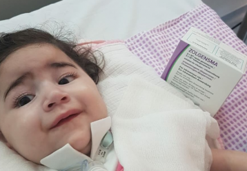 Το φάρμακο της ελπίδας για την μικρή Άσια - Ξεκινά τη θεραπεία στο Μακάρειο