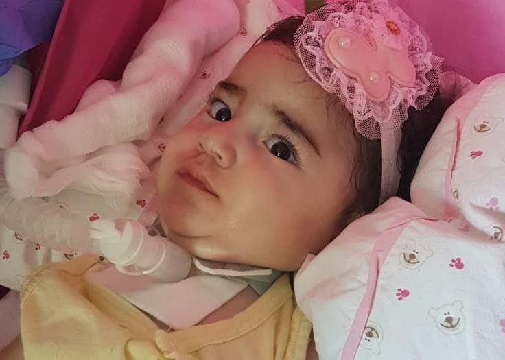 Στο σπίτι της η μικρή Άσια μετά την πρώτη δόση φαρμάκου